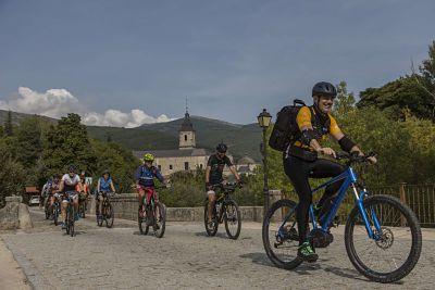 Rascafría y Monasterio de El Paular en bicicleta.