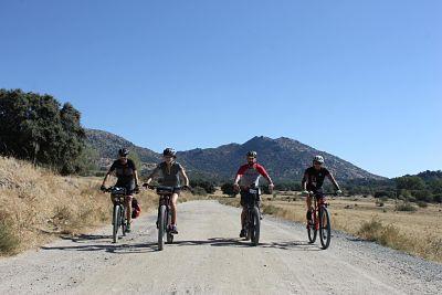 bicicleta MTB en Madrid Sierra Oeste