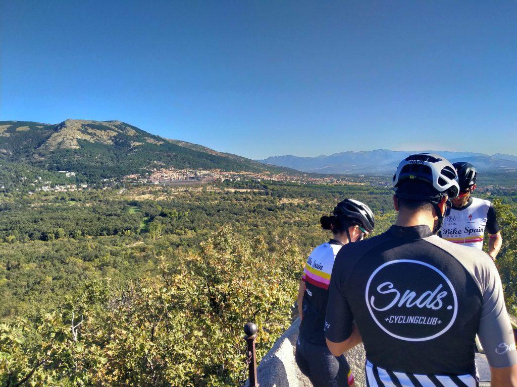 El Escorial y La Herrería en bicicleta Madrid
