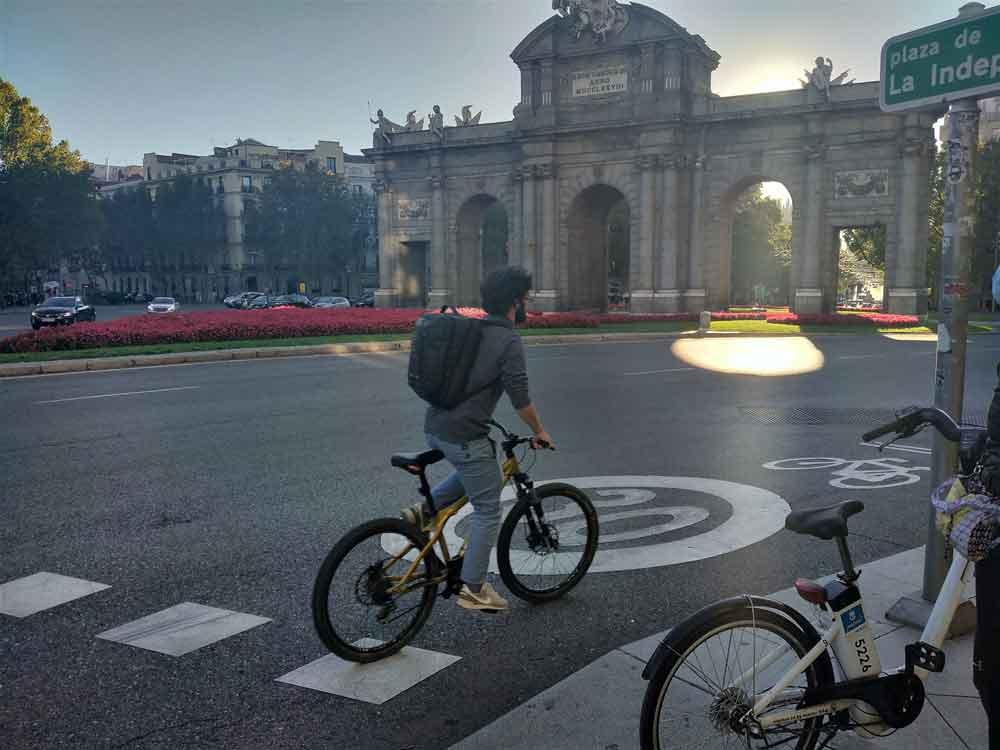 Bici urbana Madrid