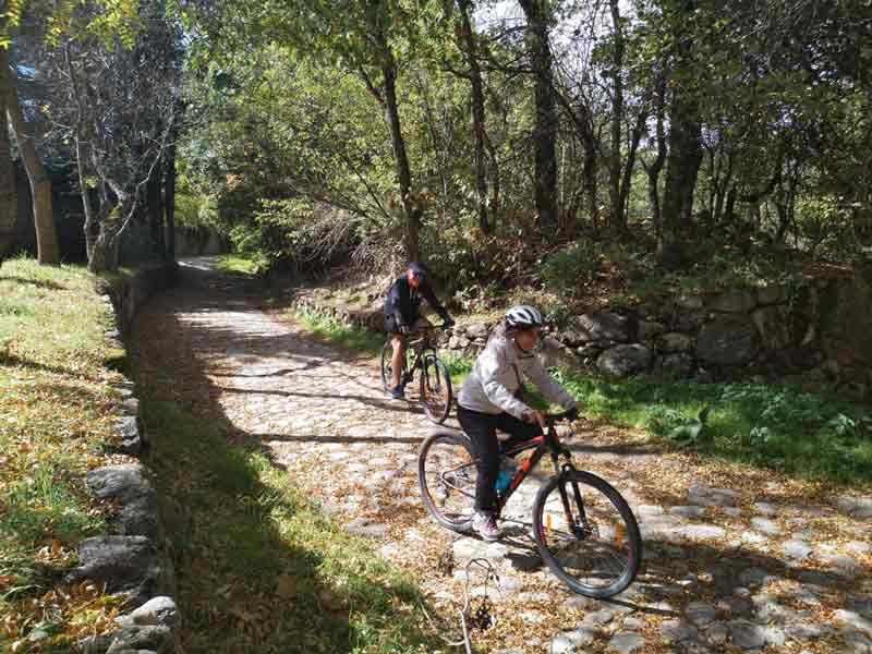 Camino Natural del Lozoya en bici también con niños