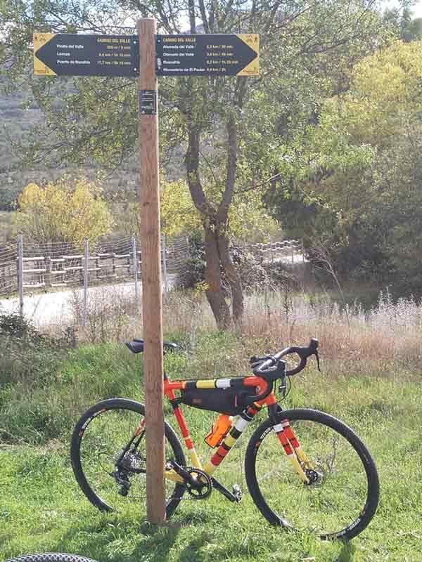 Camino Lozoya en bicicleta con niños