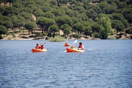 actividades kayak embalse San Juan Madrid